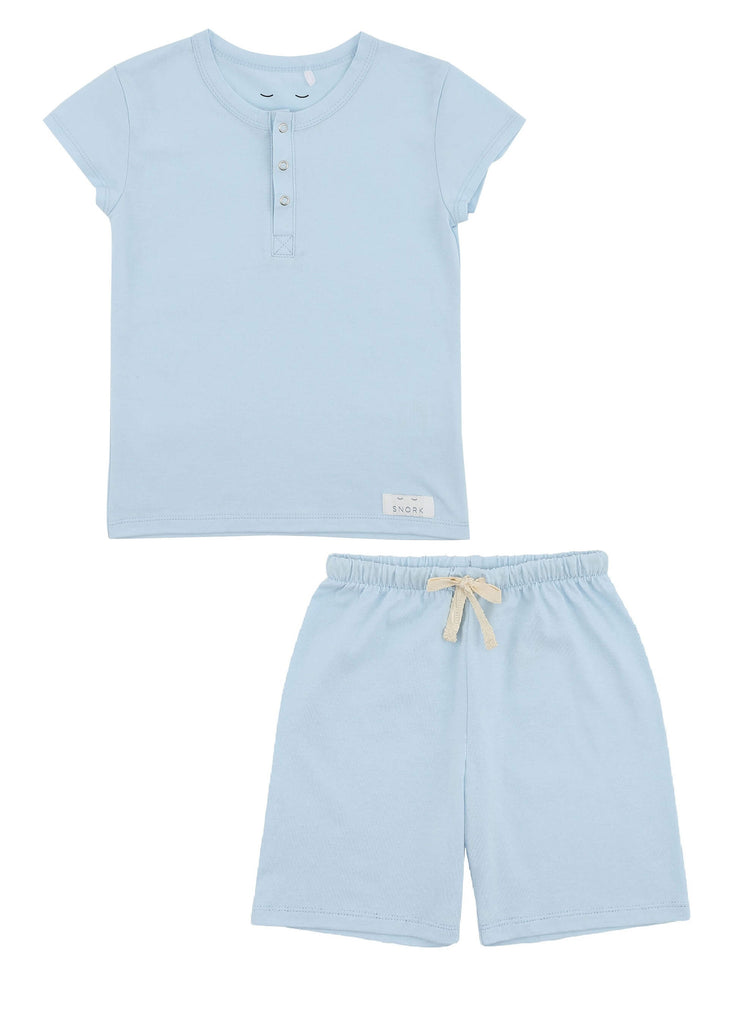 VILHELM Pyjamas shorts Sky blue