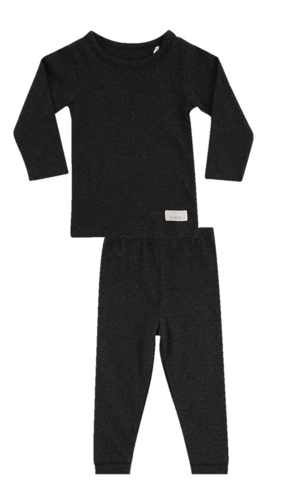Black Lounge Unisex Baby pyjamas