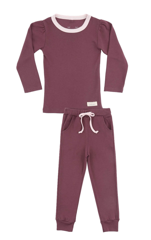 Pyjamas  girl PLUM
