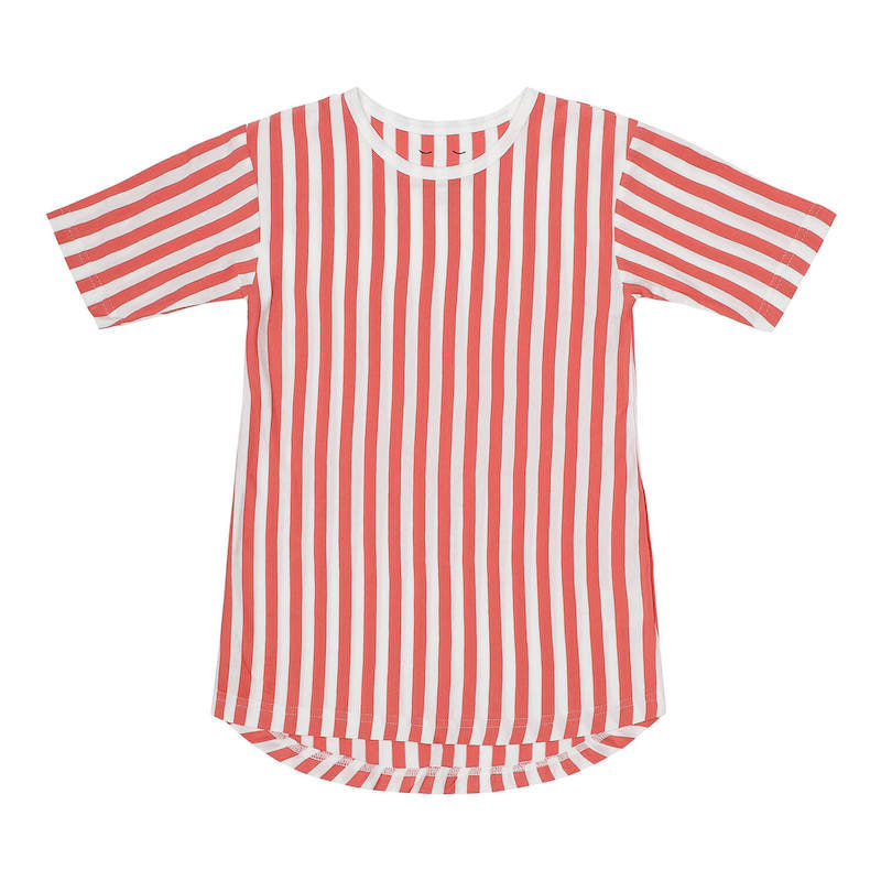 SAGA shirt Lazy Red Stripes