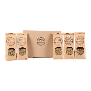 1.5g Assorted Green/ Raw Coffee Bean Variety Pack - 5 x 300g