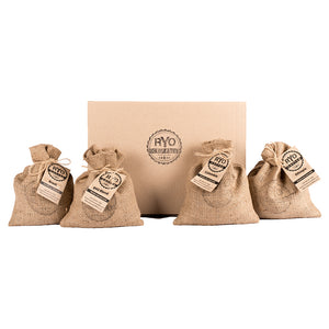 2kg Assorted Green/ Raw Coffee Bean Variety Pack - 4 x 500g