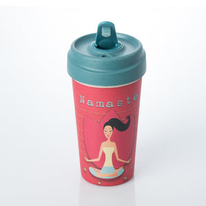 Bamboo Cup - Yoga Love cup - ChicMic