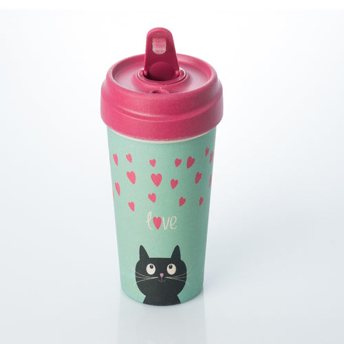 Bamboo Cup - Kitty Love cup - ChicMic