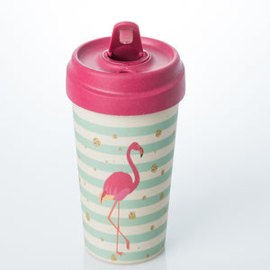 Bamboo Cup - Flamingo cup - ChicMic