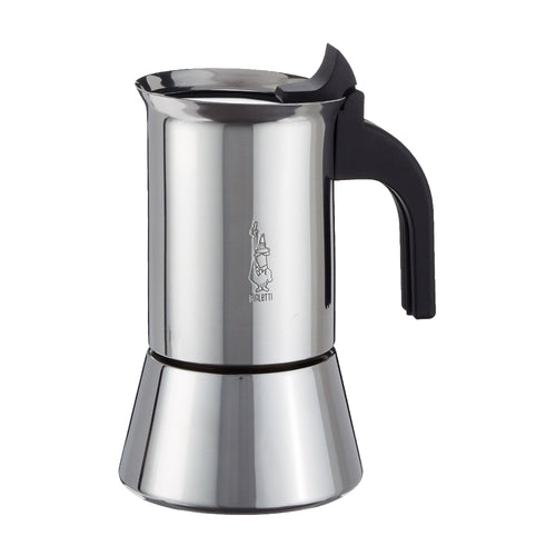 Bialetti Venus Moka Pot (Stainless Steel) coffee maker