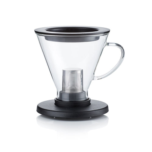 BrewThru Coffee and Tea Maker - Black - Barista & Co