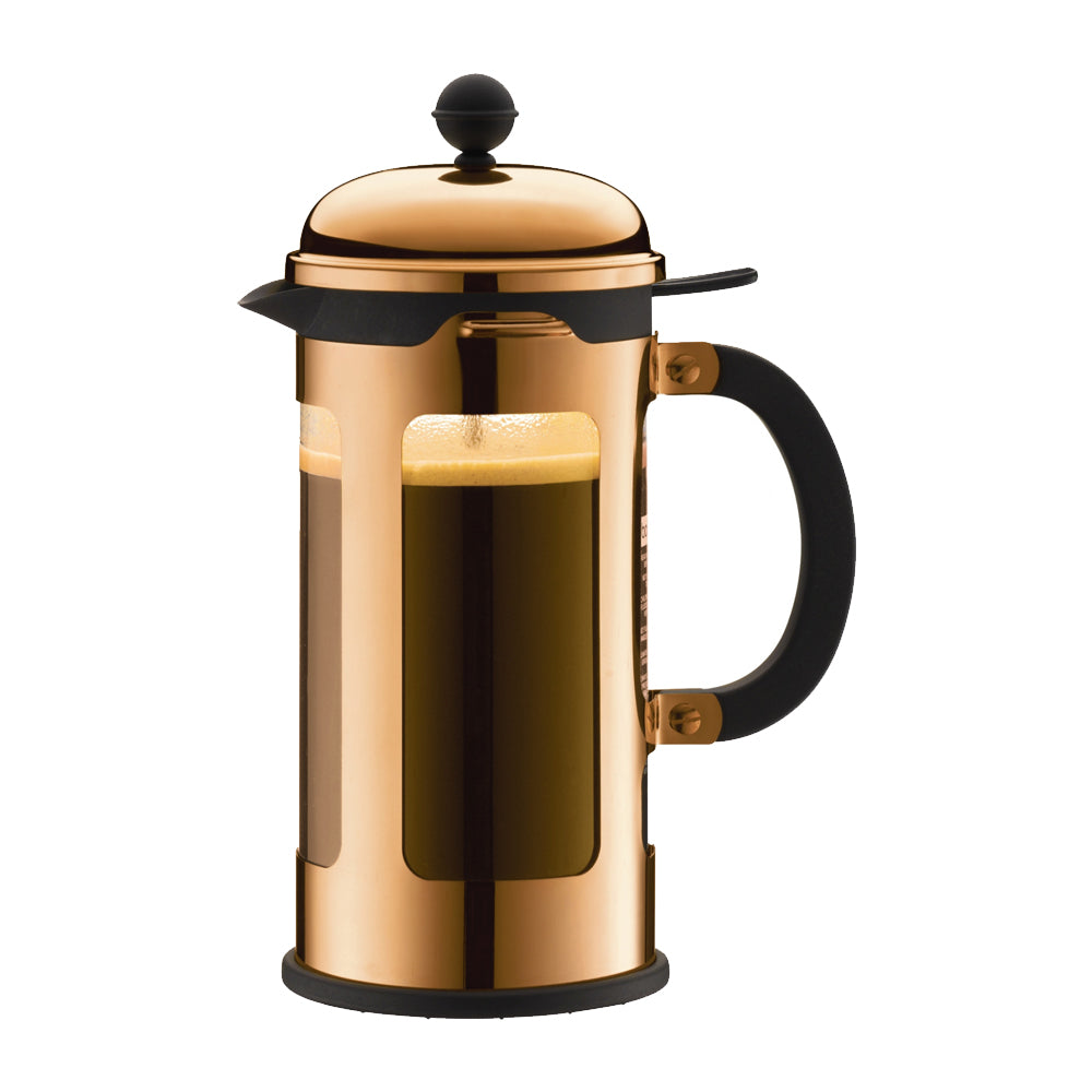 Chambord French Press (Plunger) Copper Coffee Maker