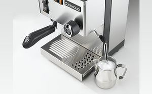 Rancilio Silvia M V6 Espresso Machine (Black  or S/Steel) (OUT OF STOCK)