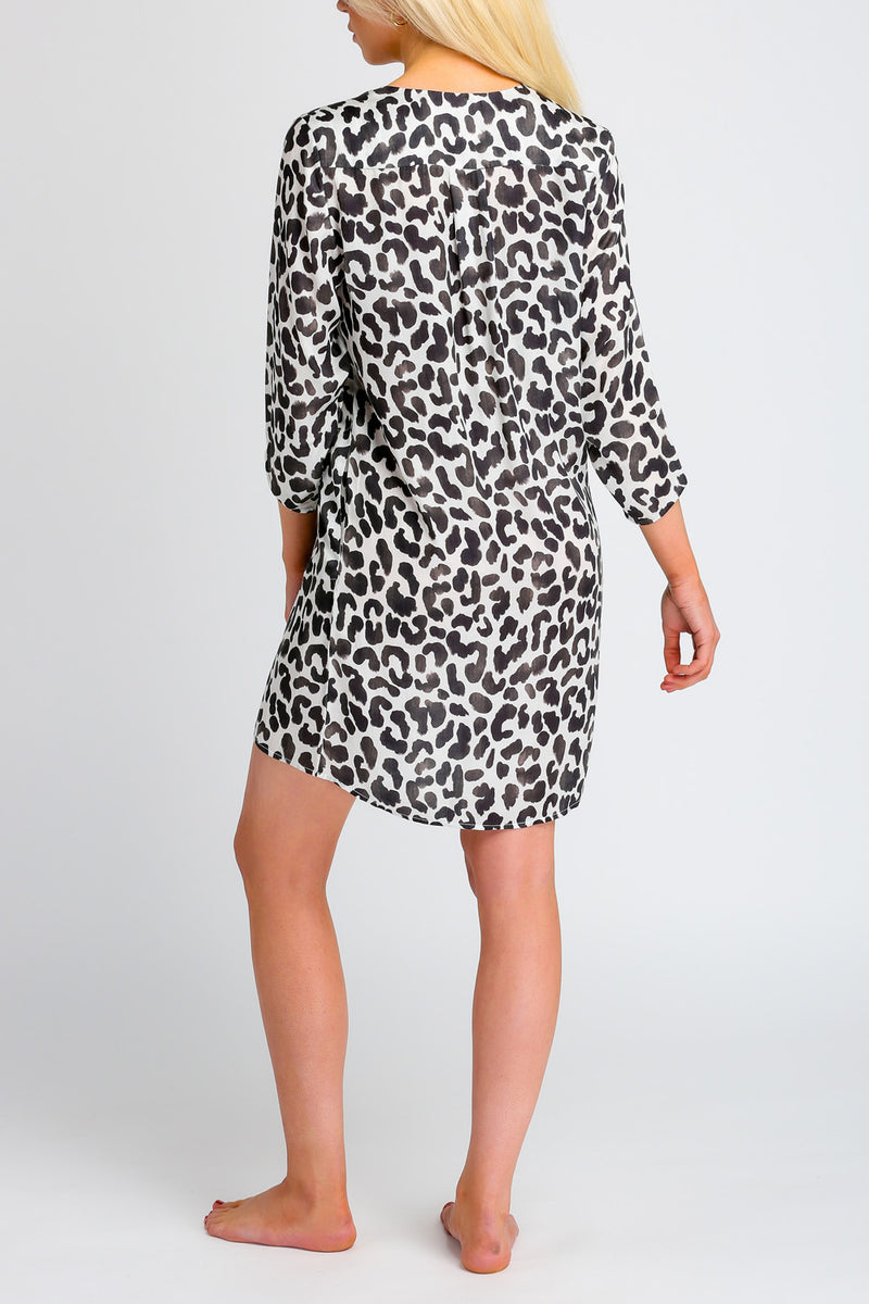 NOVELLO SHORT - LEOPARD