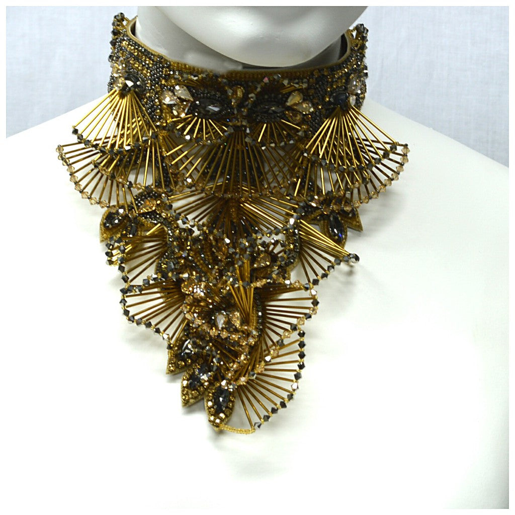 THE PRISTINE NECKPIECE.