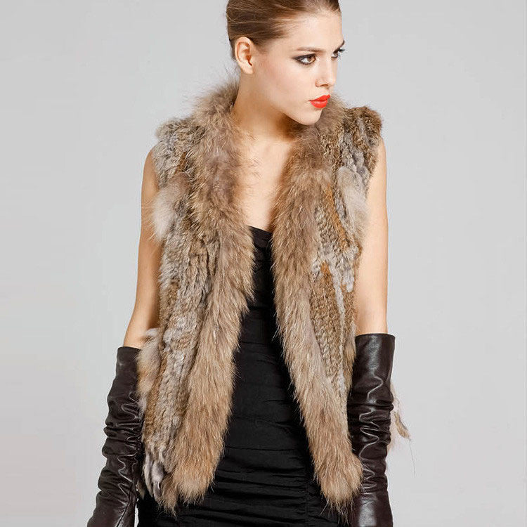 Rabbit Fur Brown Gilette
