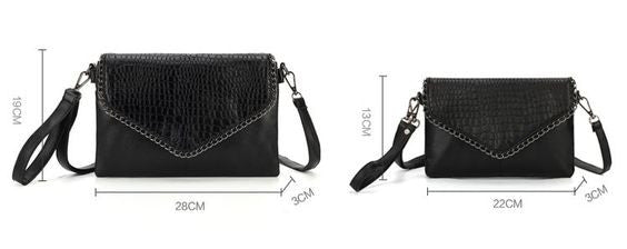 Messenger Crossbody Envelope Shoulder Bag