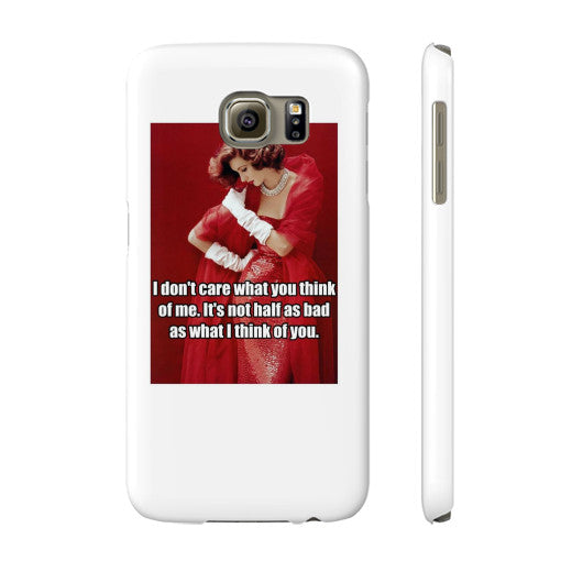 Phone Case Slim Galaxy s6 - Natalie