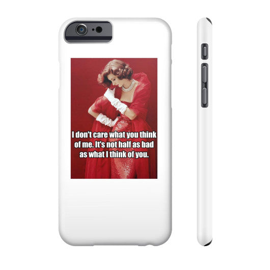 Phone Case Slim iPhone 6 - Natalie