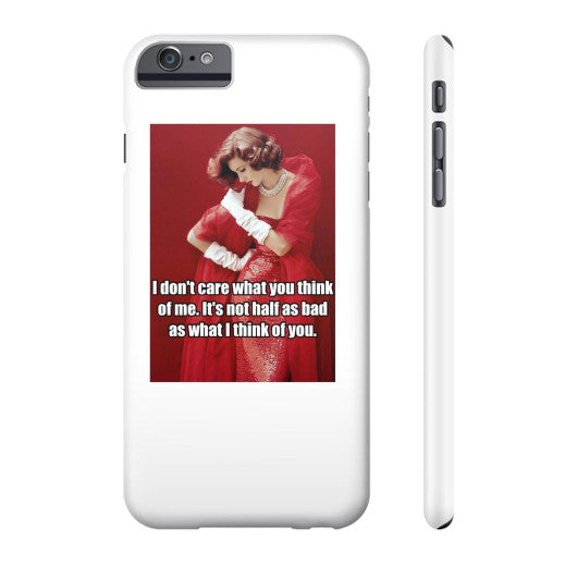Phone Case Slim iPhone 6 Plus - Natalie