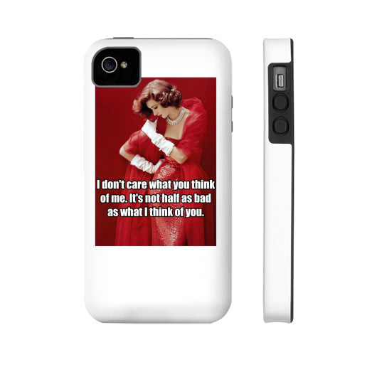 Phone Case Tough iPhone 4/4s - Natalie