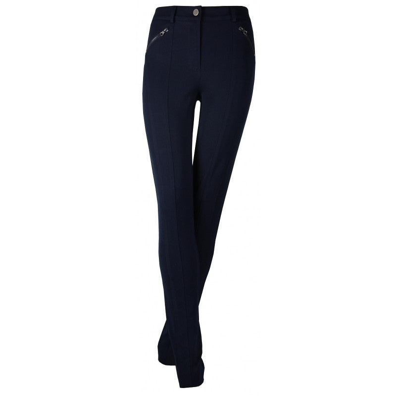 TEVA Blue slim trousers
