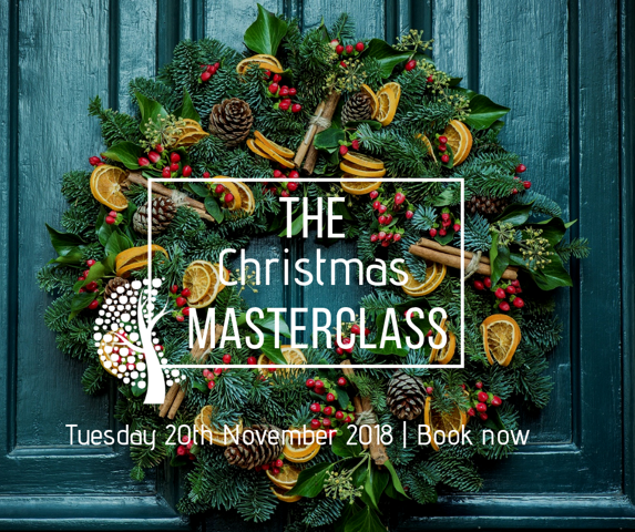 BOOK NOW!  - Christmas Floristry Masterclass & Exclusive Shopping Evening
