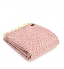 Lifestyle Beehive Throw - Dusty Pink - Applemoon Interiors