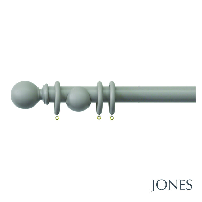 shore curtain poles - 35mm - Applemoon Interiors