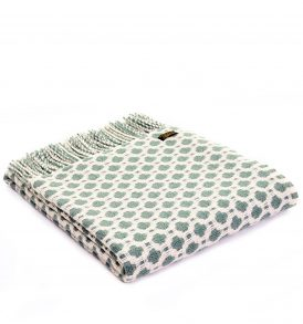 Lifestyle Crossroads Throw - Sea Green - Applemoon Interiors