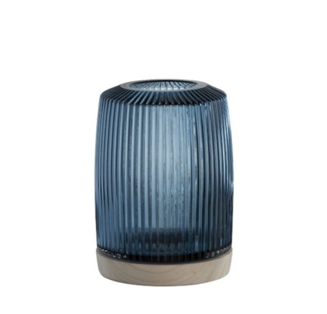 Navy Blue Vase Rib - Applemoon Interiors