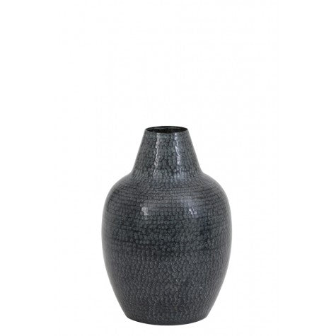 Formia Vase Blue & Black - Applemoon Interiors