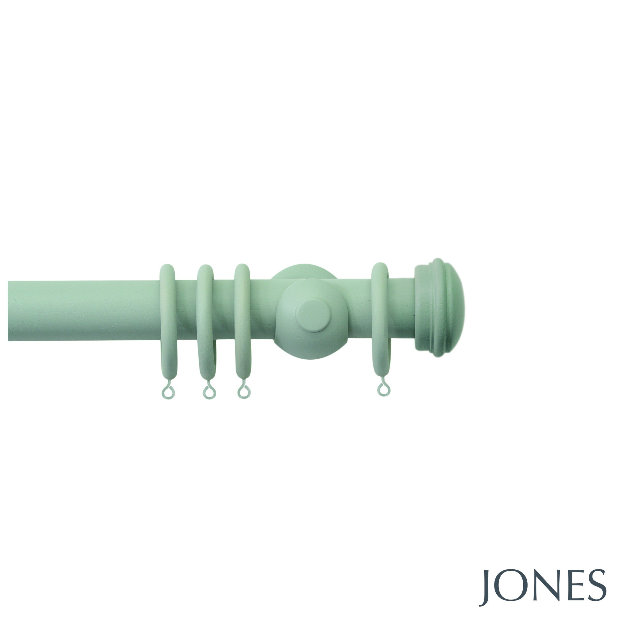 seychelles poles - end cap finials - 40mm - Applemoon Interiors