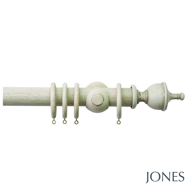 hardwick pole - urn finials - 40mm - Applemoon Interiors