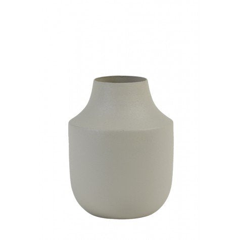Milas Vase Deco Black and White medium