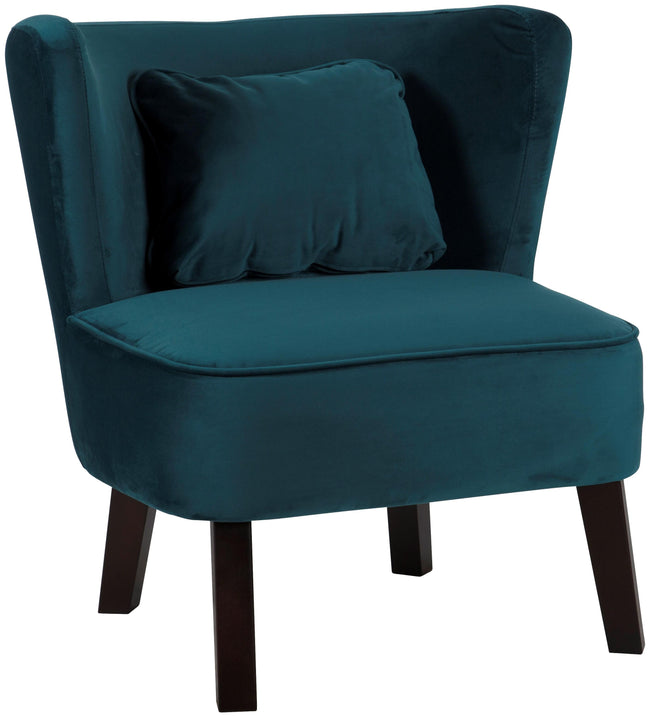 Marle Occasion Chair - Petrol Blue - Applemoon Interiors