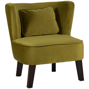 Marle Occasion Chair - Brussels Green - Applemoon Interiors
