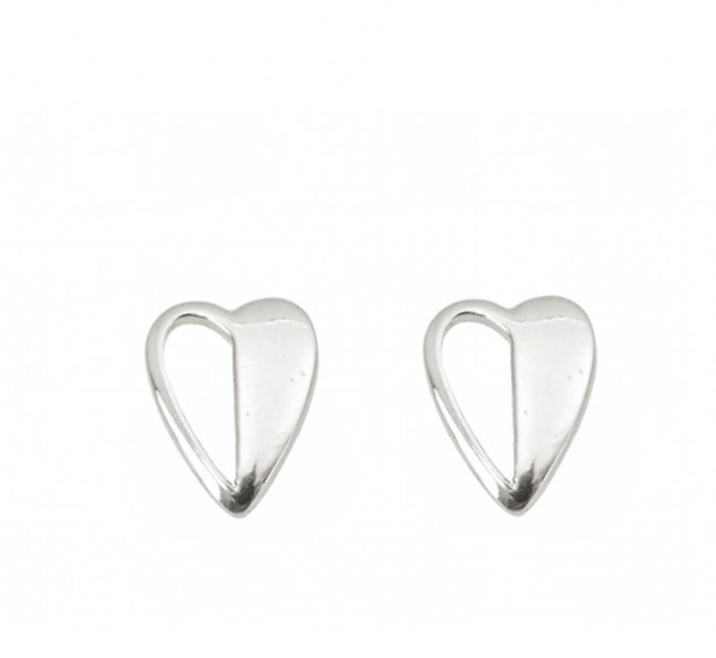 Tutti & Co Heart Earrings - Applemoon Interiors