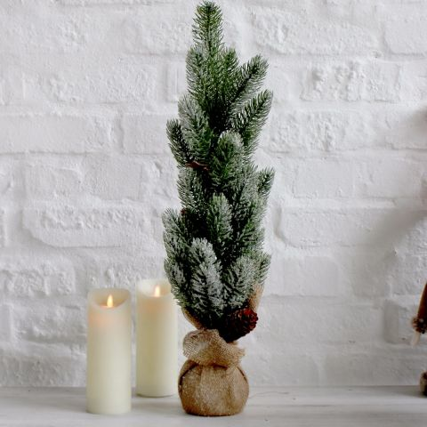 Christmas tree in sack - Applemoon Interiors