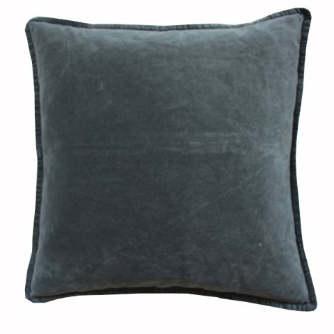 Sage Green Velvet Cushion - Applemoon Interiors