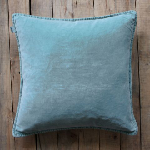 Seafoam Velvet Cushion - Applemoon Interiors