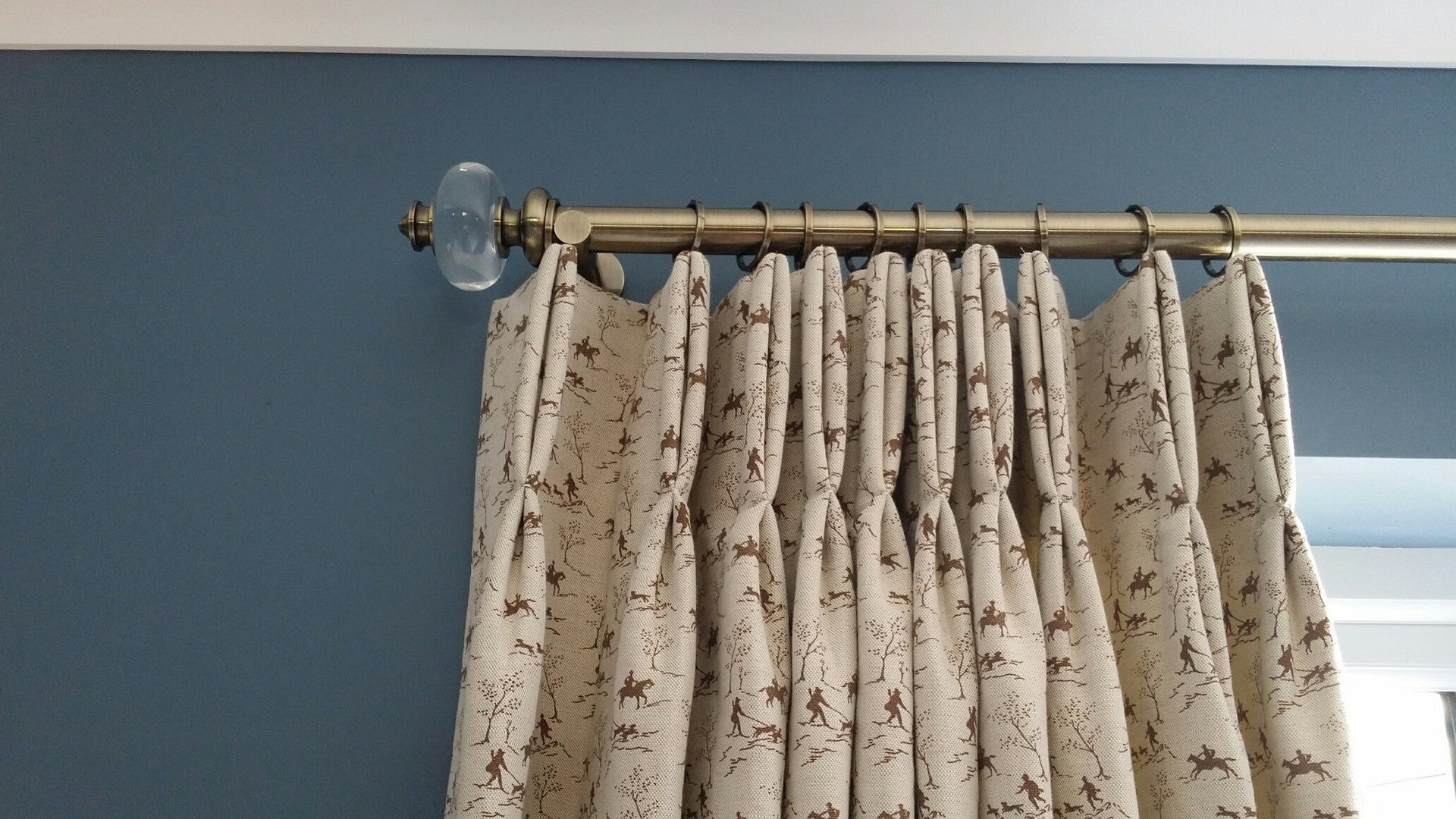 Emily Bond Curtains in Rydon Homes Showhome Bethersden