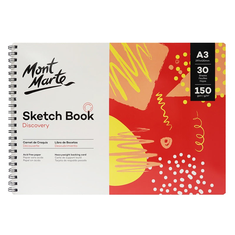 Load image into Gallery viewer, Discovery Sketch Book 150gsm A3