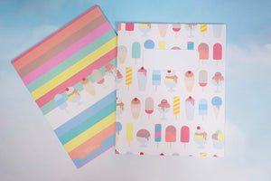 Notebook/icecream(40 sheets)