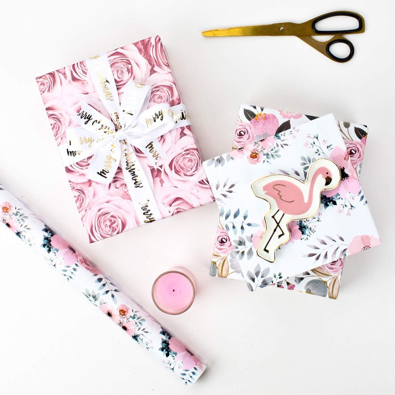 Floral wrapping roll