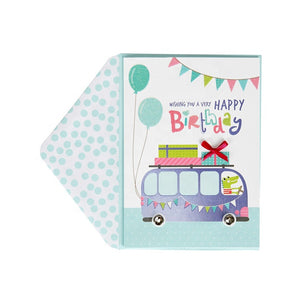Card - Birthday Bus