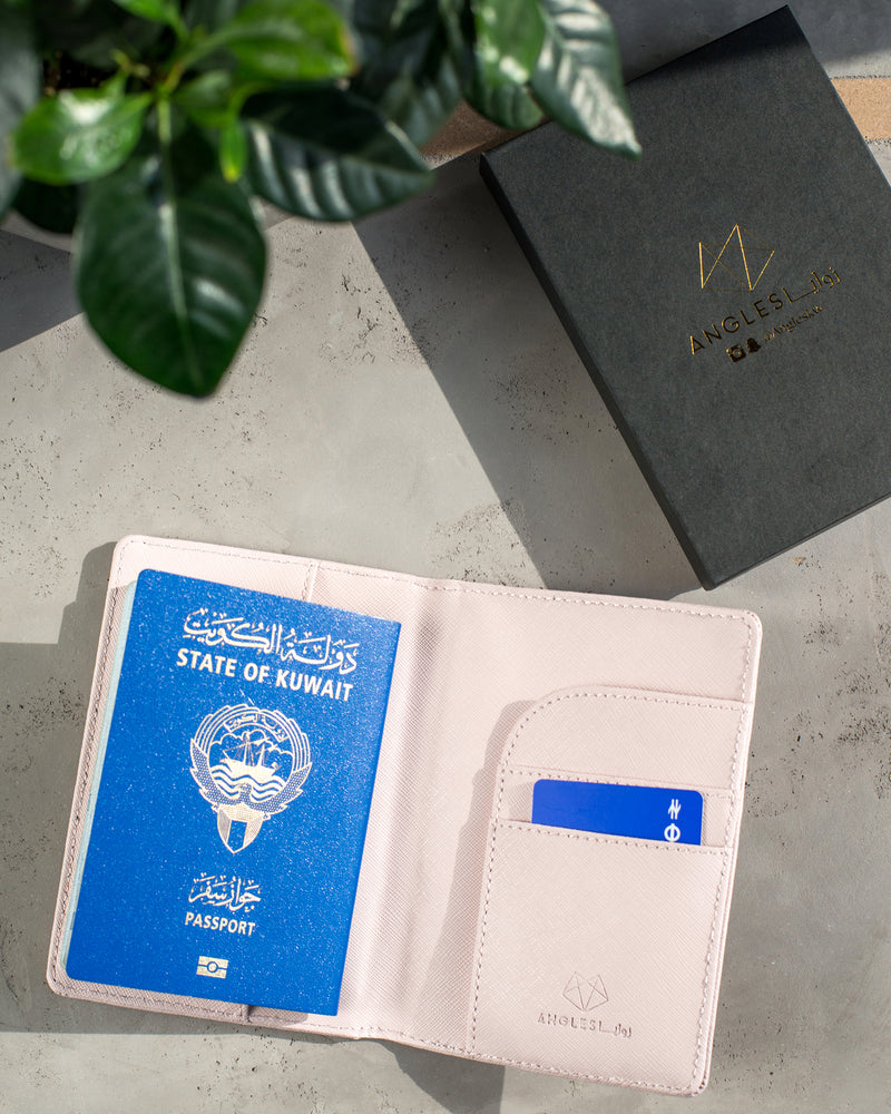 Load image into Gallery viewer, Passport Cover - baby pink