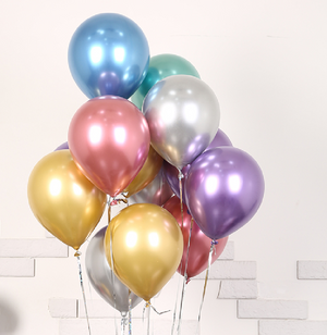 Load image into Gallery viewer, Metallic ballons (50 pics)