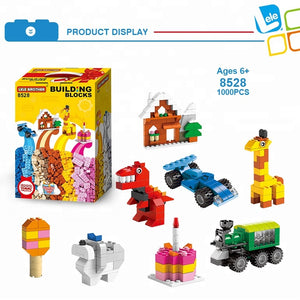 1000pcs Creative Building Blocks