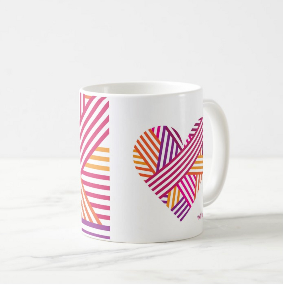 Load image into Gallery viewer, Mug Heart Shape