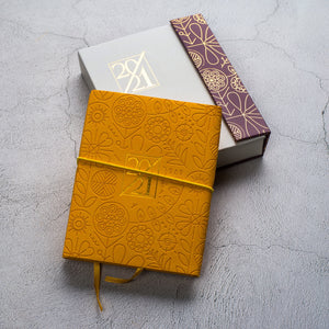 Mini Agenda Yellow - أجندة ٢٠٢١