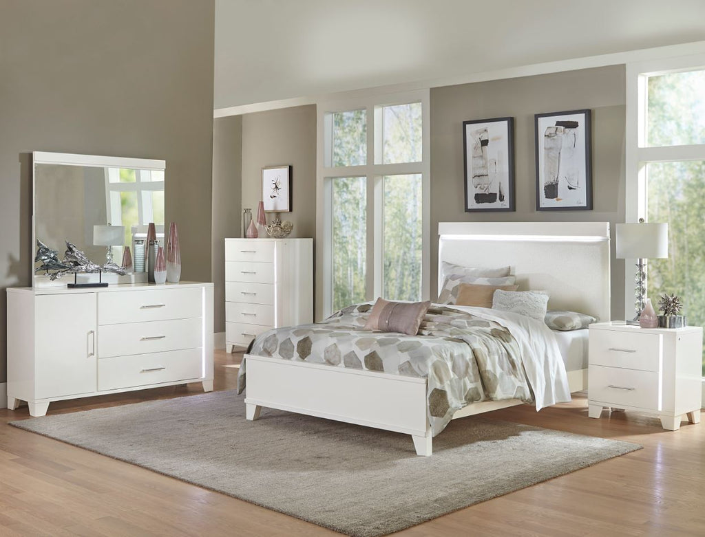Admirable Keren White King Bedroom Set Bralicious Painted Fabric Chair Ideas Braliciousco