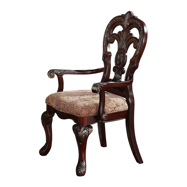 Deryn Park Cherry Arm Chair - Homelegance shop at  Regency Furniture
