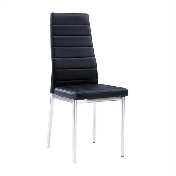 D368 Dom Only Black Dining Chair